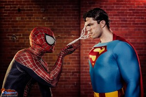 Spiderman & Superman